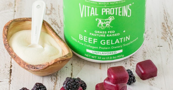 Vital Proteins Beef Gelatin for Gut Health   Healthy, Fit & Barefoot!