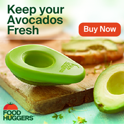 FoodHuggers Avocado Saver from Healthy, Fit & Barefoot!