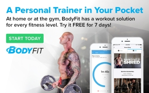 Free 7 Day Trial to BodyFit by Bodybuilding.com